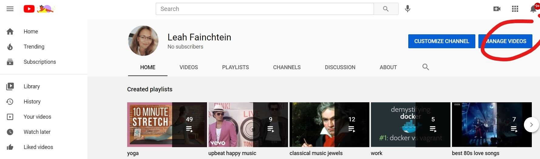 Verify Your YouTube Account 1